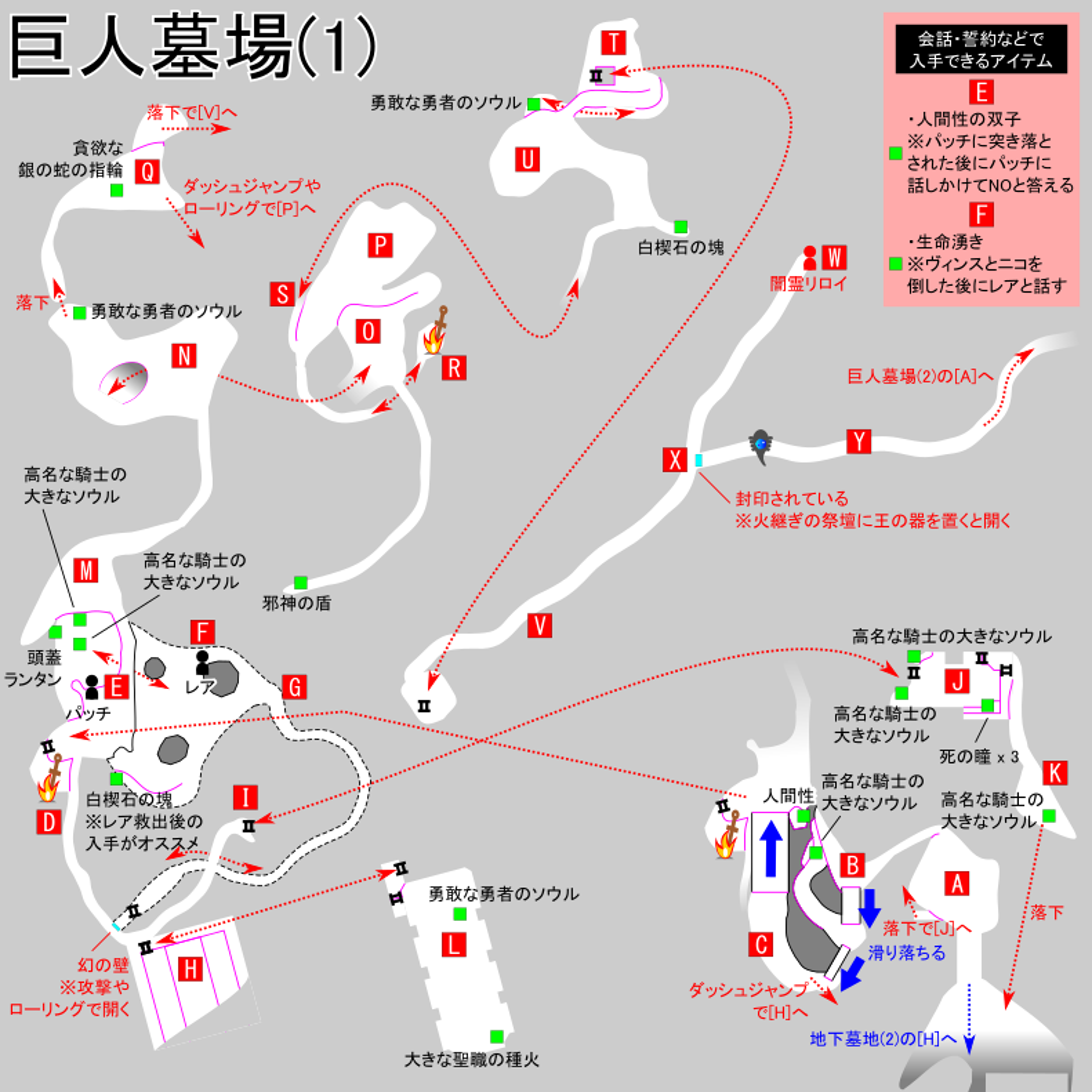 攻略 ダーク ソウル チャート 2
